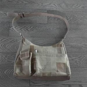 Beige shoulder  leather bag 🍀🍀🍀